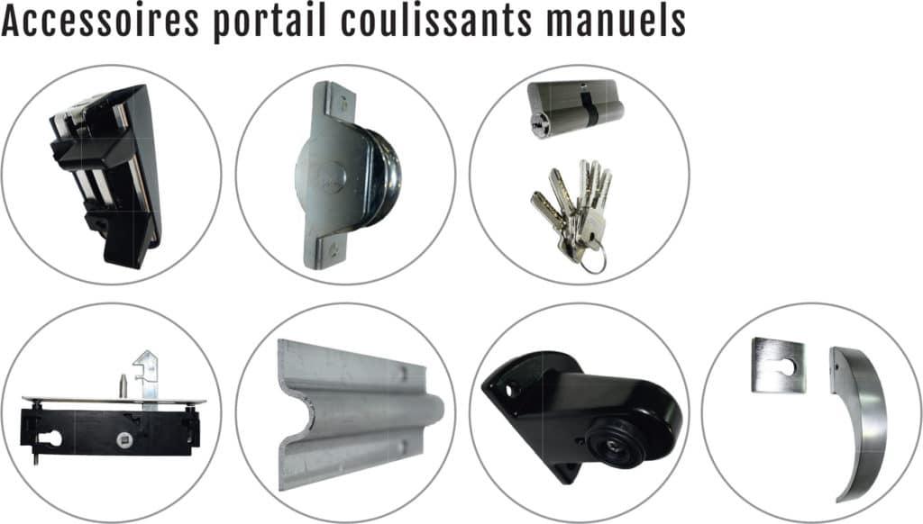 accessoires portail coulissant manuel