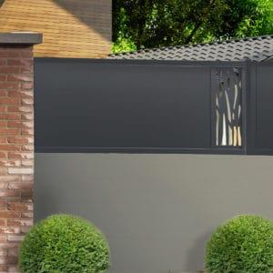 Cloture alu gamme Futura modèle Dordogne