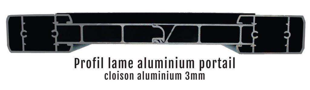 lame alu haut de gamme 3mm d epaisseur