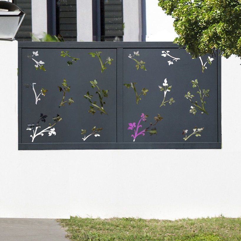 cloture alu floraly