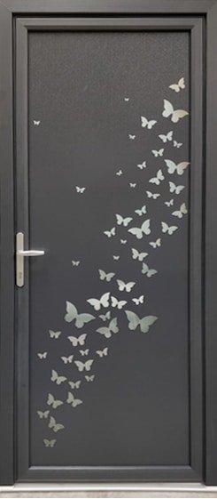 Porte d'entrée Papillons