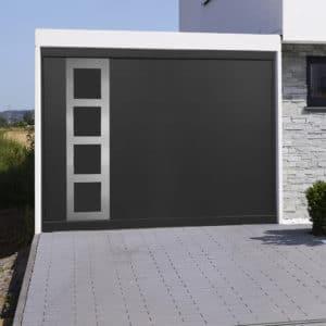 Porte de garage alu Rome