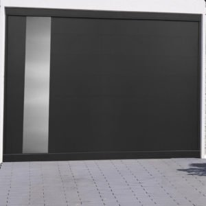 Porte de garage alu sectionnelle isolée Turin