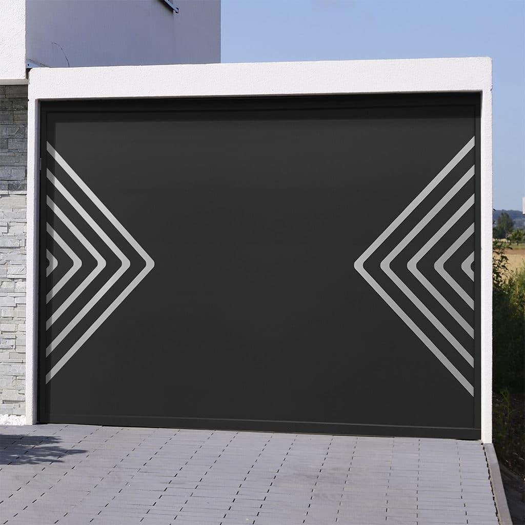 Porte de garage sectionnelle isolée Ibiza