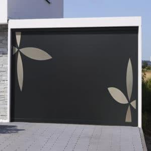 Porte de garage sectionnelle isolée Majorque
