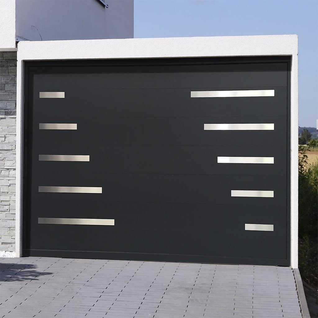 Porte de garage sectionnelle isolée Madère