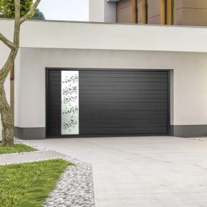 Porte de garage alu sectionnelle isolée l'Envol