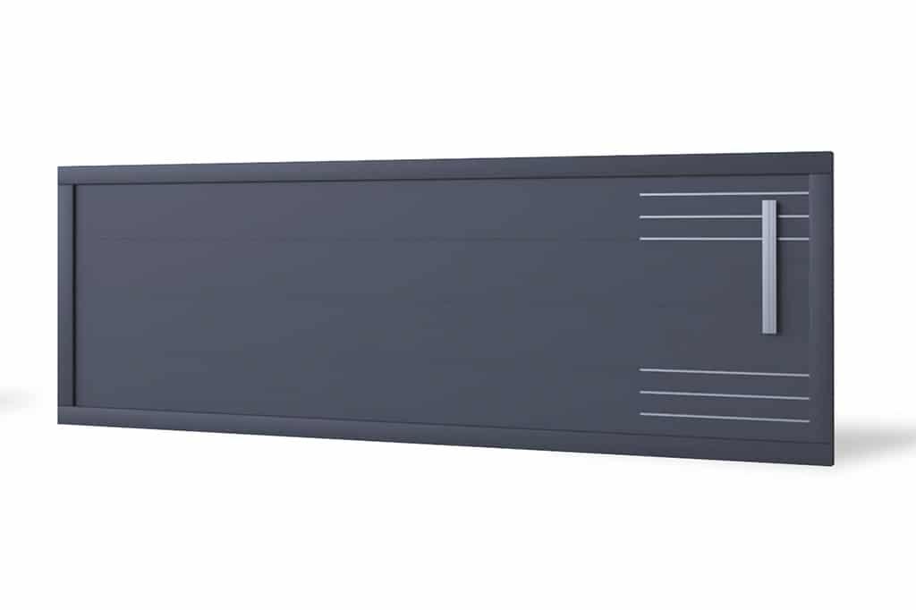 Portail coulissant aluminium Boras